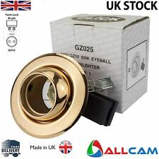 Click Lighting GZ025 GZ10 / GU10 Downlighter Eyeball in Copper finish