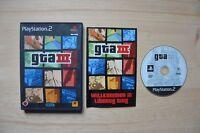 PS2 - GTA III - (OVP, mit Anleitung)