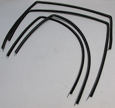 1965-1966 IMPALA 4 DOOR SEDAN UPPER CHANNEL WINDOW WEATHERSTRIP KIT 4 PIECES