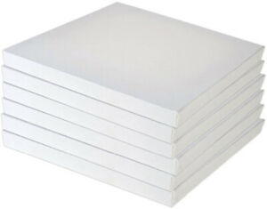 Blank Artist Canvas Art Board Plain Painting Stretched Framed White A2 A3 A4 A5