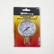 Forney 87728 2 High Pressure Regulator Gauge 0 400 Psi 14 Npt