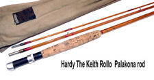 Hardy Keith Rollo 9' Palakona trout fly  rod built 1959 with bag