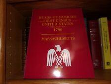 1790 Census Massachusetts New Book