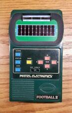 New ListingMattel Classic Electronic Football 2 Vintage Handheld Game