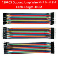 Details about  /40pcs Dupont Jump Wire M-F M-M F-F Jumper Breadboard Lead Cable Hot For Ard D5N7