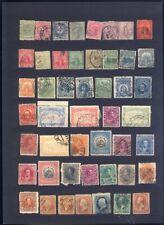 sehr alte exotische Briefmarken auf A4 Steckkarte weltweit 1