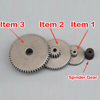 0.5 0.6 0.8 Modulus Metal Gear Double-tooth Gearbox Spindle Motor Transmission