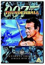 THUNDERBALL ULTIMATE EDITION SEAN CONNERY JAMES BOND 2 DISC SET DVD NEW & SEALED