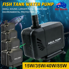1500 6000 LPH Aquarium Pump Water Submersible Fish Tank Fountain Pond Marine