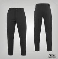 Mens Slazenger Brushed Fleece Slim Winter Trousers Sizes Waist from 32 to 38