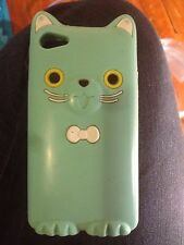 Bundle Of 3 Cute IPhone 4/4s Snap-On And Rubber Cases