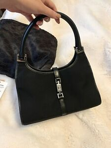 VTG Gucci Black Jackie Shoulder Bag (Kaia Gerber Style)