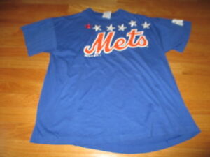 Vintage Bike Label - 1998 NEW YORK METS with Stars (LG) T-Shirt