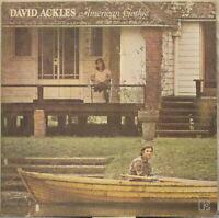 DAVID ACKLES American Gothic LP 1970s Singer-Songwriter/Folk – w/ Insert