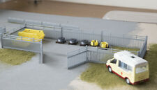 OO Scale Compound Yard, Skips Pallets & Toilet