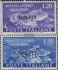 Triest - Zone A 150-151 (kompl.Ausg.) postfrisch 1951 Montecassino
