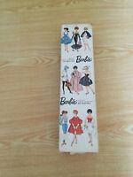 Vintage Genuine Teen Age Fashion Model Barbie 1962