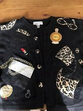 Ugly Tacky Christmas Party Sweaters Leopard