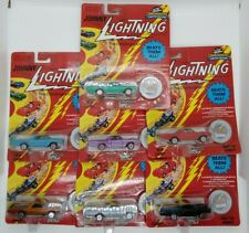 (7) Johnny Lightning EL CAMINO various colors w/L.M. 1993 1:64 MIP!
