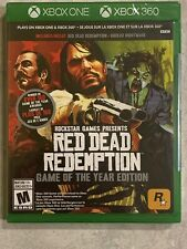 NEW Red Dead Redemption & Undead Nightmare XBox One & 360 Sealed Canada GOTY