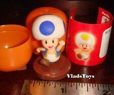 Furuta Choco Huevo Super Mario Bros Wii #2 Azul Sapo Figura en EEUU Distribuidor