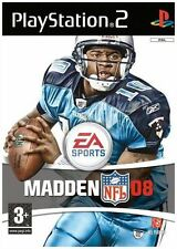 Madden NFL 08 Playstation 2 PS2 American Footbal Video Game - New & Sealed