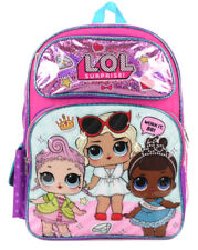 "L.O.L. SURPRISE! LET'S BE FRIENDS!  WORK IT BB BLING BLING  16""  LOL  Backpack"