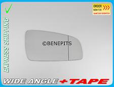 Wing mirror glass wide angle Opel Zafira B 2005-2010 + Ruban Adhésif Côté droit \ F026