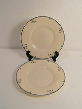 LOT TWO (2)  Gorham Ariana  Town & Country    Saucers   Fine China Collection