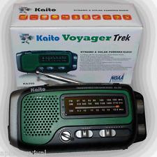 Kaito KA350 Voyager Trek Solar Crank Battery Radio