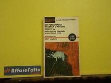 ART 5.104 LIBRO SEI PERSONAGGI IN CERCA D'AUTORE DI LUIGI PIRANDELLO 1966