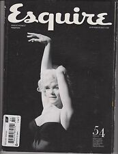 ESQUIRE MAGAZINE ESPANA SPANISH July/August 2012, Marilyn Monroe.