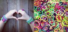 1200 elastiques mélange de couleurs +  clips pour création Rainbow Loom bands