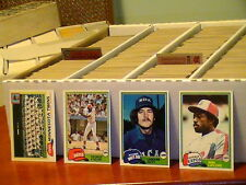 1981 Topps Baseball pick 30 cards finnish your set ex-nm