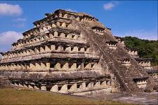 525071 piramide delle nicchie El Tajin Veracruz Mexico A4 FOTO STAMPA