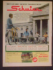 1972 Schwinn Varsity~Pea Picker~Sting~Ray~Super Sport Bicycles Bikes AD