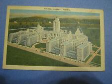 Postcard University Montreal L'Universite Quebec 1946