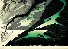 "Eyvind Earle     ""Green Big Sur""    MAKE  OFFER    DSS"