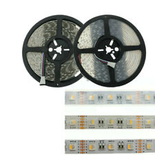 5M/16.4ft 5050 4-in-1 Chip RGBW RGBWW Flexible LED Strip Lights 300 Leds DC 12V