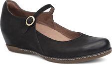 Women's Dansko Clogs Mary Jane Loralie Black Leather