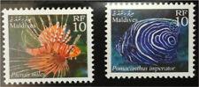 Maldives, 2001 r. ** Mi. 3770-3771 ryby fish Fisch