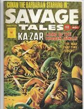 Savage Tales #15 1970's Australian Ka-Zar / Snake Cover!