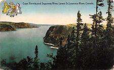 B5173 Quebec Saguenay River Cape Eternity