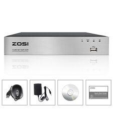 ZOSI CCTV 8CH 720P TVI DVR HDMI Video Recorder Überwachung Rekorder P2P NO HDD