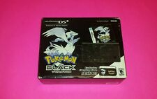 Nintendo DSi Reshiramu & Zekrom Edition Pokemon Bundle Black Handheld System NEW