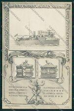 Livorno Città Militari Marina Militare cartolina QQ3668