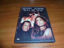 Trick or Treat (DVD, Full Frame 2003) Ozzy Osbourne,Gene Simmons Used OOP