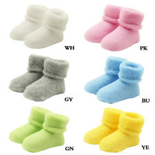 1 Pair Newborn Baby Infants Super Warm Soft Socks Toddler Boots Floor Socks