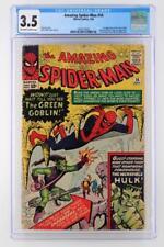 Amazing Spider-Man #14 - CGC 3.5 VG- Marvel 1964 - 1st App of the Green Goblin!
