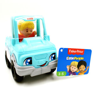 Fisher Price Little People Pick Up Truck w/ Girl, Preschool Vehicle & Figure